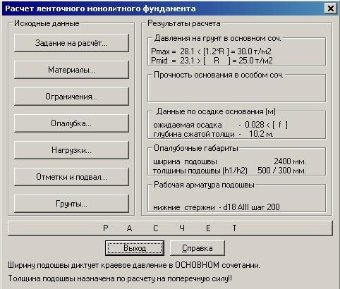 Монолитная плита фундамента цена за м2 Щелковский район